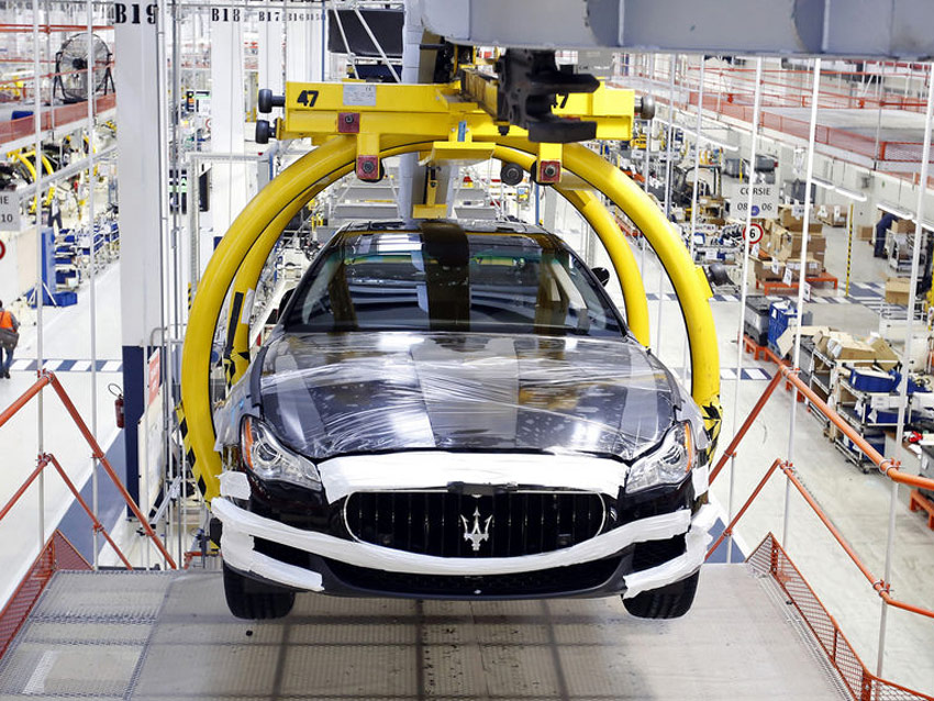 Üretimde Dijitalleşme | Maserati Ghibli