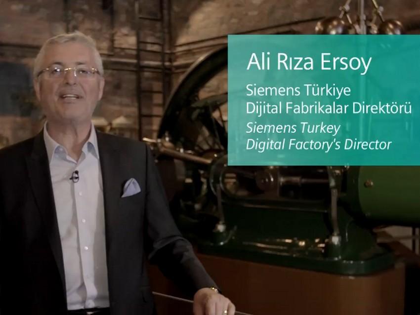 Endüstrinin Evreleri | Siemens | Ali Rıza Ersoy