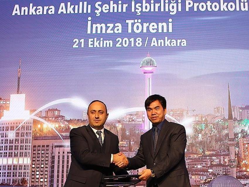Ankara'da Akıllı Park Projesi Hayata Geçiyor
