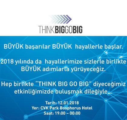 THINK BIG GO BIG - Boğaziçi Yazılım