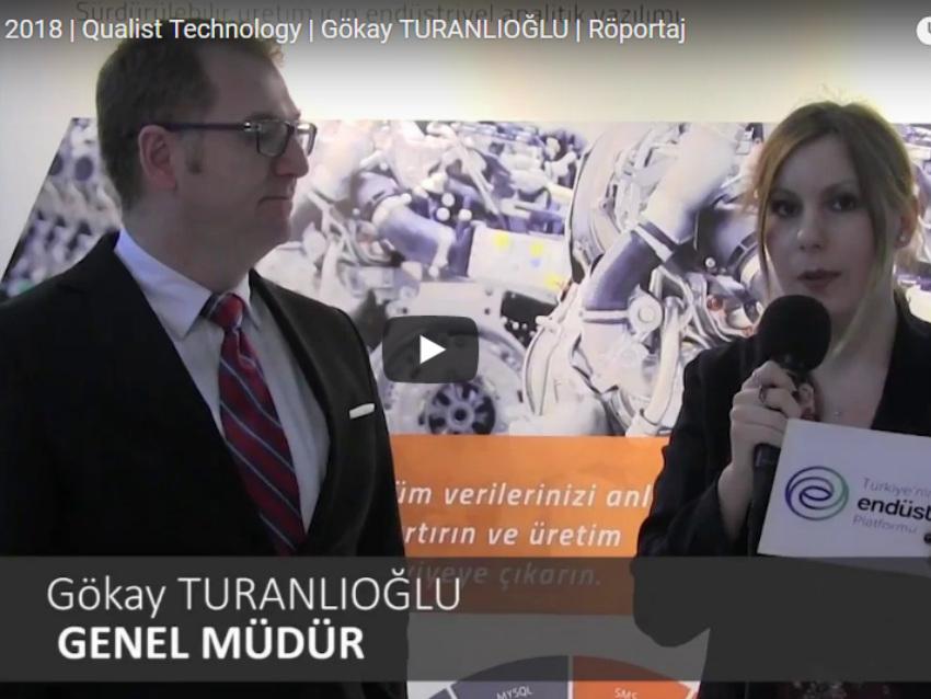 WIN Eurasia 2018 | Qualist Technology | Gökay TURANLIOĞLU | Röportaj