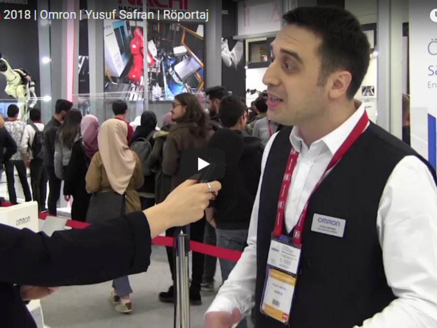 WIN Eurasia 2018 | Omron | Yusuf Safran | Röportaj