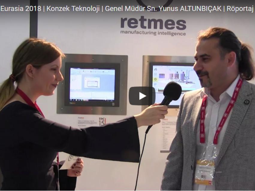 WIN Eurasia 2018 | Konzek Teknoloji | Genel Müdür Sn. Yunus ALTUNBIÇAK | Röportaj
