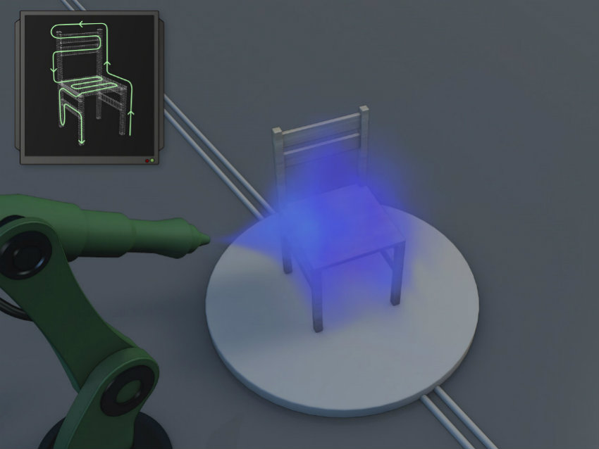 Otomatik Boyama Sistemi Selfpaint