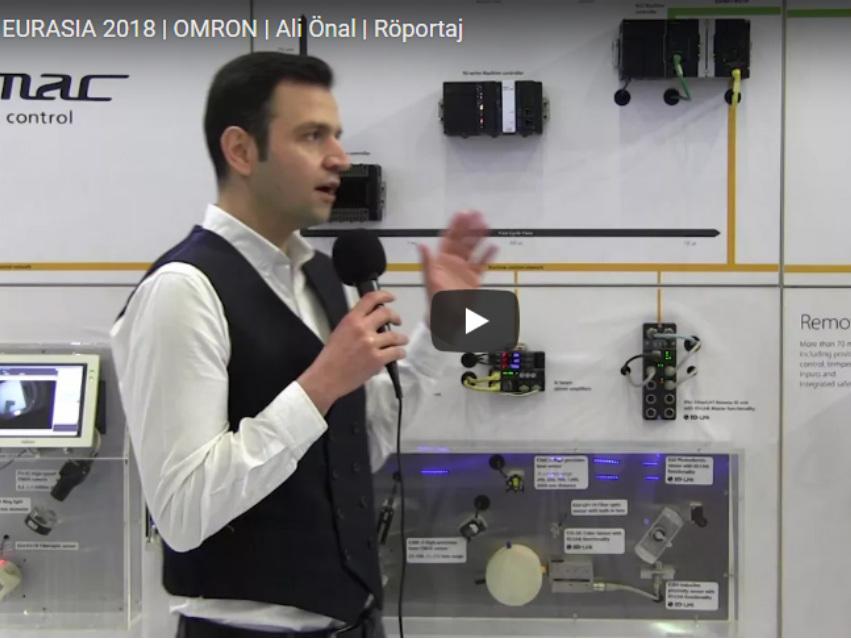 WIN EURASIA 2018 | OMRON | Ali Önal | Röportaj